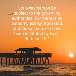 Romans 13:1 ESV